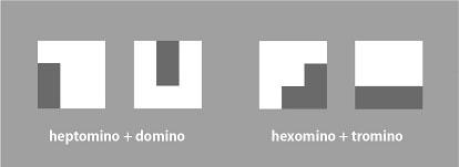 図6. 「正方形3×3」の分解